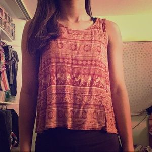 Forever 21 detailed tank top